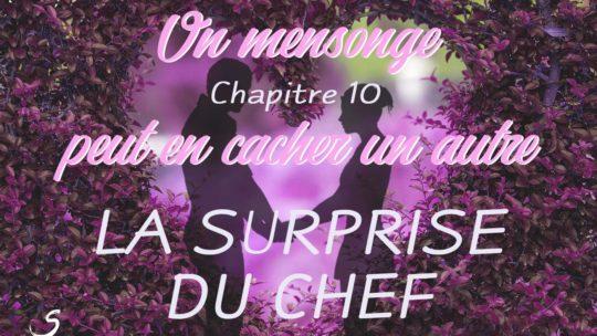 Un mensonge peut en cacher un autre – chapitre 10